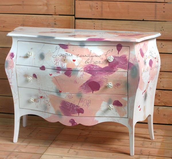 Shabby chic castagnetti c mobili decorati for Mobili shabby chic